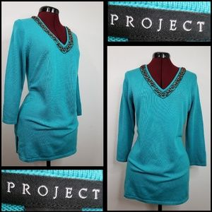 anthropologie project woman long sleeve blouse
